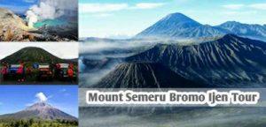 Semeru Bromo Ijen Trekking Tour