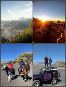 What we do in Bromo?